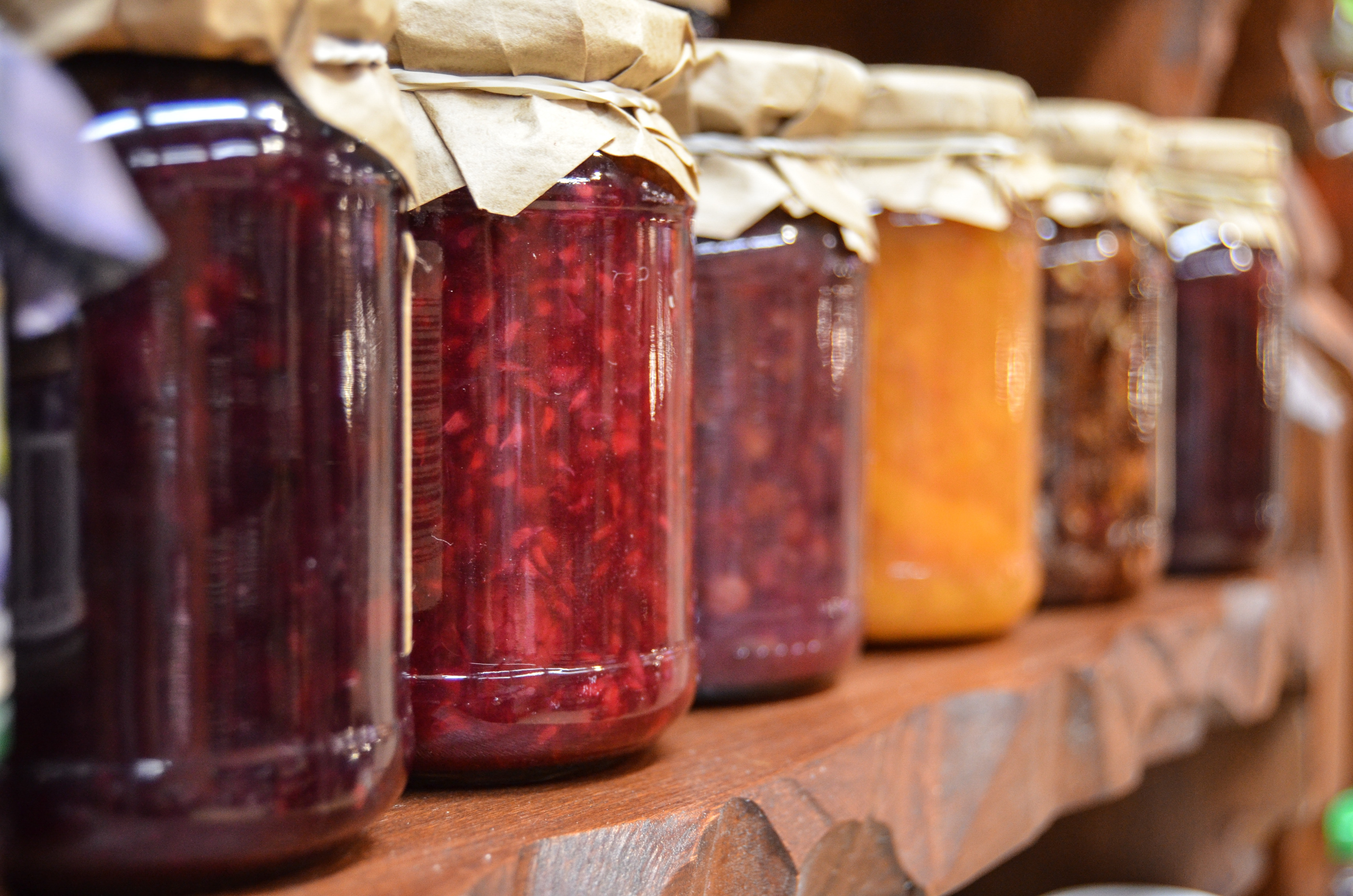 Preserves are always a popular option at summer fates and market stalls